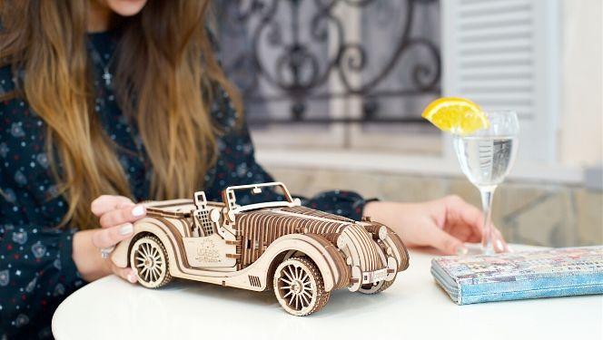 Roadster Model assembled